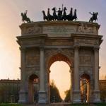 Arco della Pace- Sunset