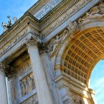 Arco della Pace - Detail