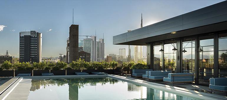 Ceresio 7 terrace